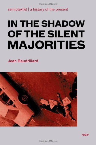 In the Shadow of the Silent Majorities   2007 edition cover