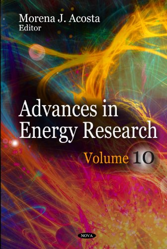 Advances in Energy Research:  2011 edition cover