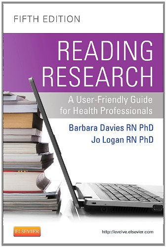 Reading Research A User-Friendly Guide for Health Professionals 5th 2011 edition cover
