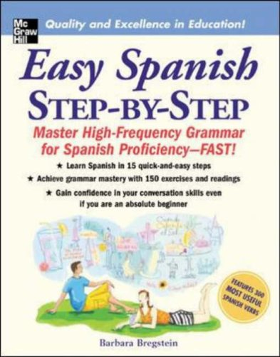 Easy Spanish Step-by-Step Master High-Frequency Grammar for Spanish Proficiency-Fast!  2006 edition cover