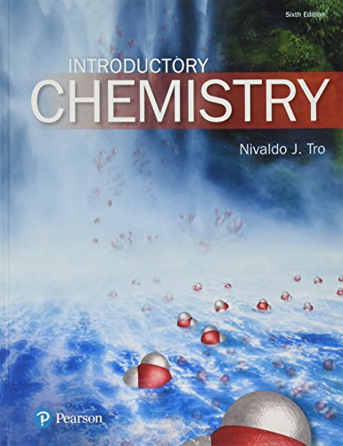 Introductory Chemistry:   2017 9780134302386 Front Cover
