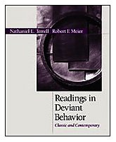 Readings in Deviant Behavior Classic and Contemporary  2001 edition cover