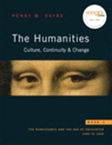 Humanities The Culture, Continuity, and Change  2009 edition cover