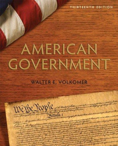 American Government  13th 2011 edition cover