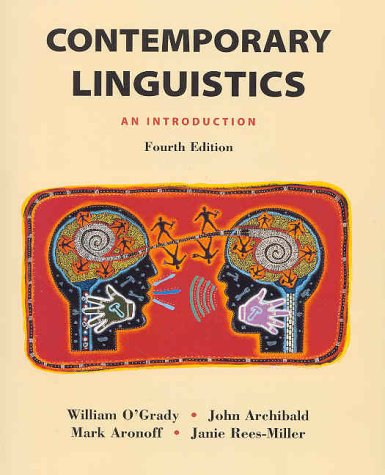Contemporary Linguistics : An Introduction 4th 2001 edition cover
