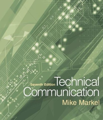 Technical Communication 7th 2004 edition cover