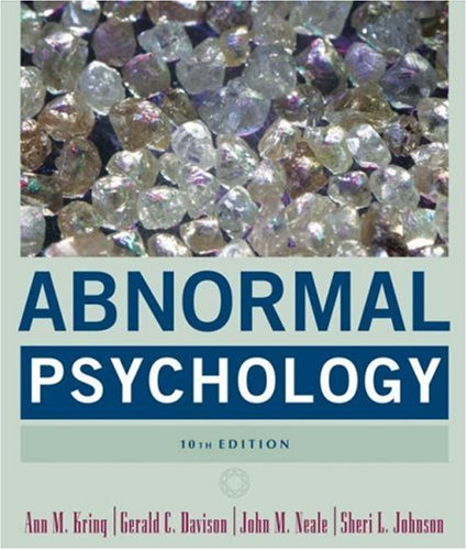 Abnormal Psychology  10th 2007 (Revised) edition cover