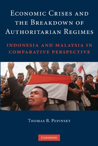 Economic Crises and the Breakdown of Authoritarian Regimes Indonesia and Malaysia in Comparative Perspective  2009 edition cover