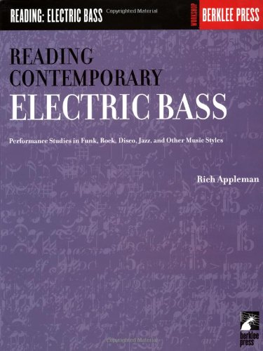 Reading Contemporary Electric Bass Rhythm  N/A edition cover