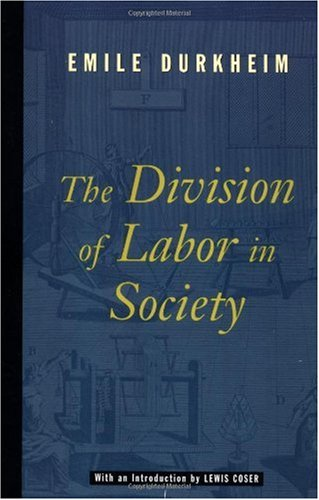 Division of Labor in Society   1997 edition cover