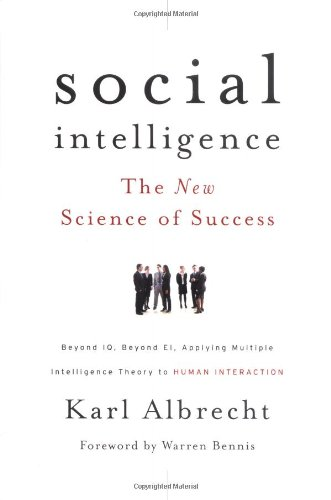Social Intelligence The New Science of Success  2006 edition cover