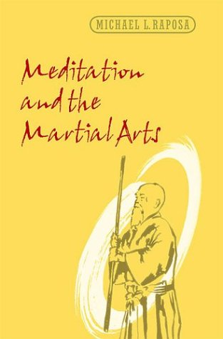 Meditation and the Martial Arts   2003 edition cover