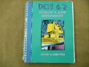 DOS 6.2 Concepts and Commands   1995 9780877098386 Front Cover