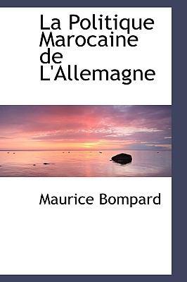 Politique Marocaine de L'Allemagne  2009 edition cover