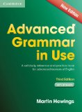 Advanced Grammar in Use Book with Answers A Self-Study Reference and Practice Book for Advanced Learners of English 3rd 2013 edition cover
