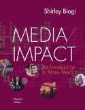 Media Impact: An Introduction to Mass Media  2014 edition cover