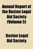 Annual Report of the Boston Legal Aid Society  2010 edition cover