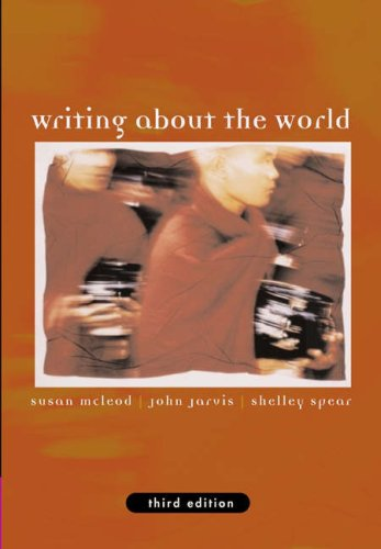 Writing about the World  3rd 2005 (Revised) edition cover