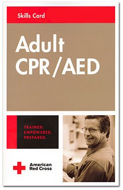 Adult CPR/AED Skills Card: 2nd 2006 edition cover