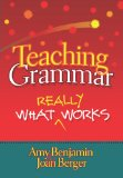 Teaching Grammar What Really Works  2010 edition cover