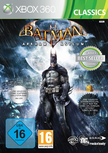 Batman: Arkham Asylum [Xbox Classics] Xbox 360 artwork