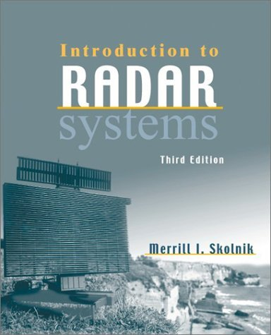 Introduction to Radar Systems  3rd 2001 (Revised) edition cover
