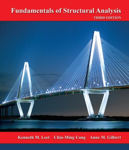 Fundamentals of Structural Analysis  3rd 2008 (Revised) edition cover