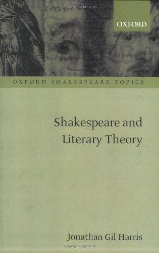 Shakespeare and Literary Theory   2010 edition cover