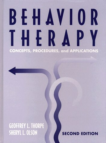 Behavior Therapy Concepts, Procedures, and Applications 2nd 1997 edition cover