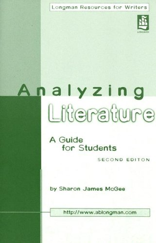 Analyzing Literature  2nd 2002 (Student Manual, Study Guide, etc.) 9780321093387 Front Cover