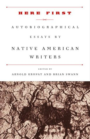 Here First Autobiographical Essays by Native American Writers  2000 edition cover