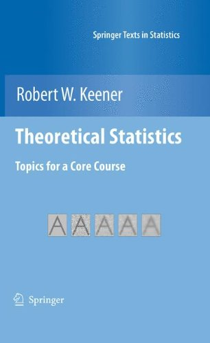 Theoretical Statisticals Topics for a Core Course  2010 edition cover