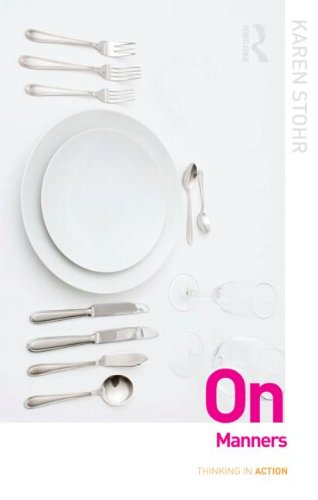 On Manners   2012 edition cover