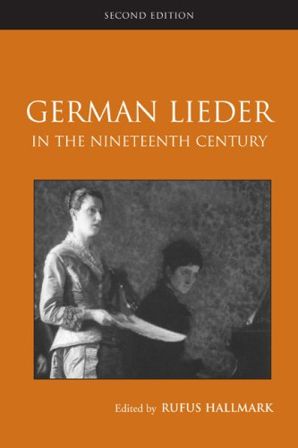 German Lieder in the Nineteenth Century  2nd 2010 (Revised) edition cover