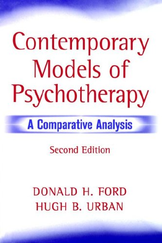 Contemporary Models of Psychotherapy A Comparative Analysis 2nd 1998 (Revised) 9780471596387 Front Cover