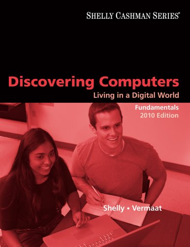 Discovering Computers 2010 Living in a Digital World 6th 2010 edition cover