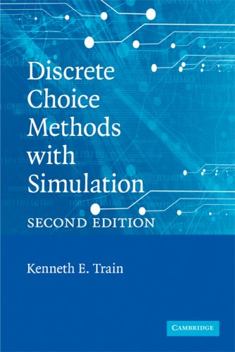 Discrete Choice Methods with Simulation  2nd 2009 edition cover