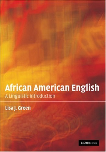 African American English A Linguistic Introduction  2002 edition cover