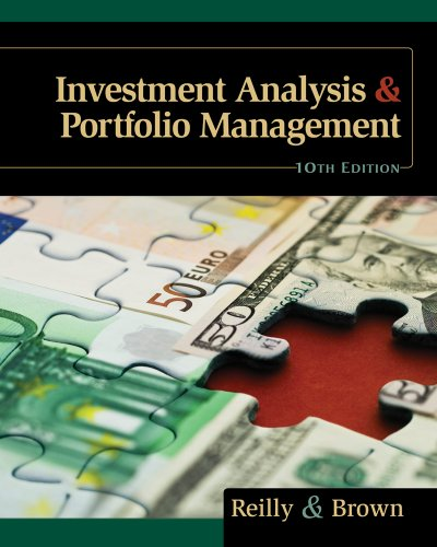 Investment Analysis and Portfolio Management (with Thomson ONE - Business School Edition and Stock-Trak Coupon)  10th 2012 9780538482387 Front Cover
