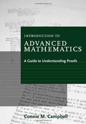 Introduction to Advanced Mathematics A Guide to Understanding Proofs 7th 2012 edition cover