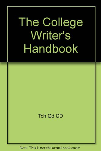Vandermey College Writer Hardcover Plus Technology Resource 1st 2007 9780618726387 Front Cover