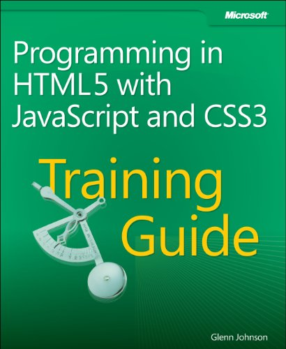 Programming in HTML5 with JavaScript and CSS3   2013 edition cover