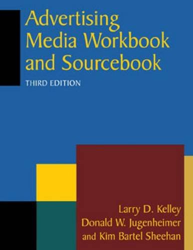 Advertising Media Workbook and Sourcebook 3rd 2012 (Revised) edition cover