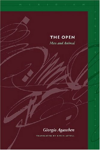 Open Man and Animal  2004 edition cover