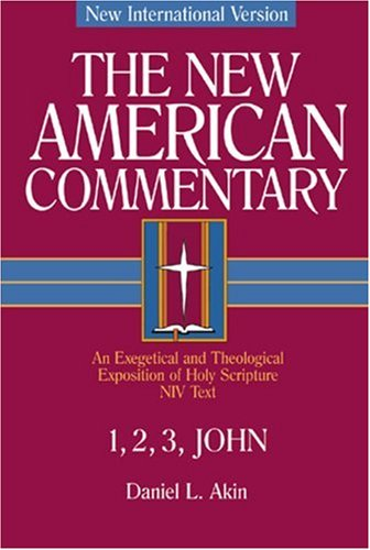 1,2,3 John An Exegetical and Theological Exposition of Holy Scripture  2001 edition cover