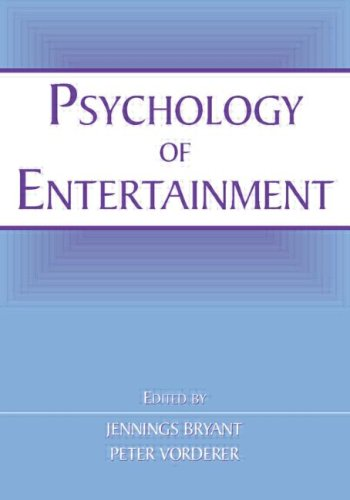 Psychology of Entertainment   2006 edition cover