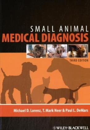Small Animal Medical Diagnosis  3rd 2009 9780813813387 Front Cover