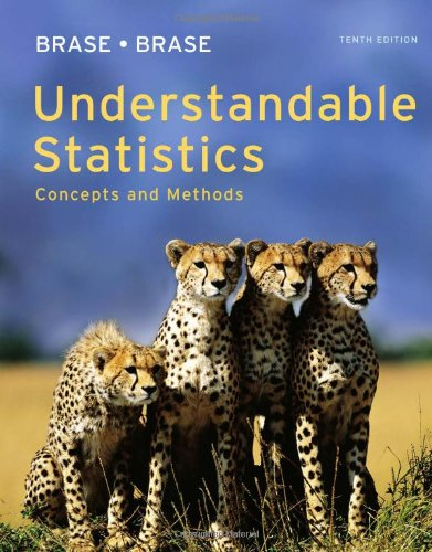 Understandable Statistics Concepts and Methods 10th 2012 edition cover