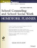 School Counseling and School Social Work Homework Planner  2nd 2013 9781118410387 Front Cover
