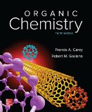 Student Solutions Manual to Accompany Organic Chemistry by Carey, 10th Edition 10th 2016 9781259636387 Front Cover